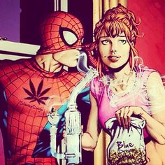 Spiderman & Maryjane ❤