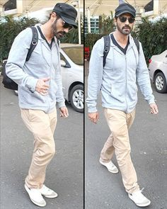 #Roy star, #ArjunRampal was #Spotted in his new look at the #MumbaiAirport.  See more celebrities pictures only on www.biscoot.com  #Bollywood #CelebrityPictures #Biscoot #CelebrityPhotos
