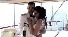 Greek Wedding on the old sailing boat m/s Erato