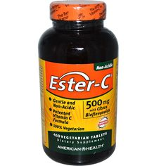 American Health, Ester-C, with Citrus Bioflavonoids, 500 mg, 450 Veggie Tabs