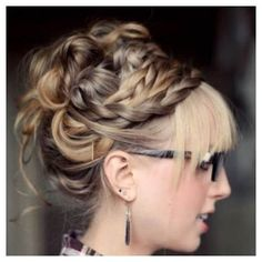 Braid #Unique #CaucasianHair #fashion  http://whosin.com/hairstyle