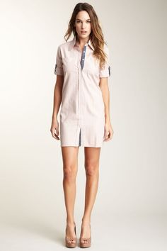 Jessica Shirt Dress by What Goes Around Comes Around on @HauteLook