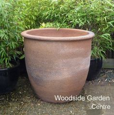 Extra Large Old Stone Round Garden Planter | Woodside Garden Centre | Pots  To Inspire