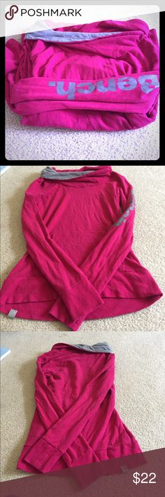 Bench pull over So cute. Hardly worn. Really soft. No defects. Cowlneck style. Runs small. Tag removed but it is a medium. Bench Tops