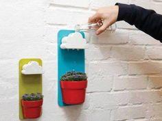 雲が水を補給してくれる?!植木鉢の3Dモデル | 3Dプリンターなら「Makers Love(メイカーズラブ)」