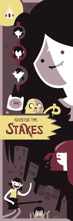 Adventure Time: Stakes by Jurassickevin.deviantart.com on @DeviantArt