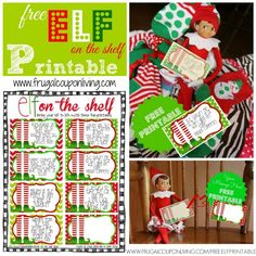 FREE Elf on The Shelf Printable Notes plus Daily Elf on the Shelf Ideas. Also grab a FREE Bendable Elf on the Shelf Tutorial. #elfontheshelf #elfontheshelfprintable #free #printables