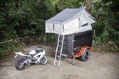 CAMPWERK Cargo. Zelten und Motrradfahren kombiniert man mit dem CAMPWERK Bike.