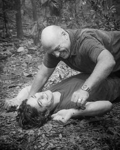#7 - Dean Norris as Big Jim, and Alexander Koch as Junior Rennie - Under The Dome - Season 3 - Episode 13 The Enemy Within - 2015
