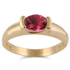 14k Pink Tourmaline Ring from Borsheims