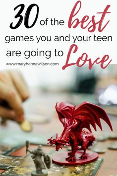 The Very Best Board Games You and Your Teens Will Love. These are our favorite board games that everyone in the familiy can play. The teens, the parents, and even younger kids will enjoy these board games.