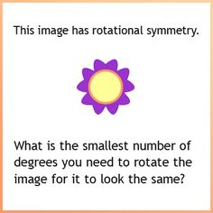 Twitter / IXLLearning: How many degrees must you rotate ...