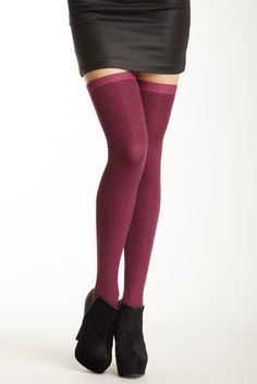 Betsey Johnson Sexy Sparkle Thigh High Sock