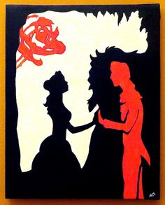 Beauty And The Beast Custom Painting On Etsy 3000 CAD