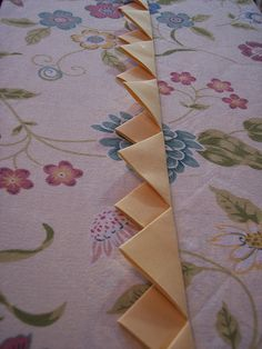 Tutorial ~ How to make continuous prairie points