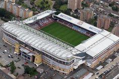 Boleyn Ground (Upton Park) - former home of West Ham United.