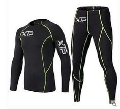 c53f26ce80 Details about Mens Compression Armour Sports Thermal Base Layer Tights  Shirt Pant Under Suit