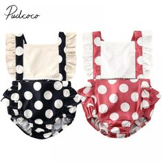 Ruffle Jumpsuit, Girl Sleeves, Summer Baby, Playsuits, Baby Boy Outfits, Kids Fashion, Summer Outfits, Polka Dots, Mariana