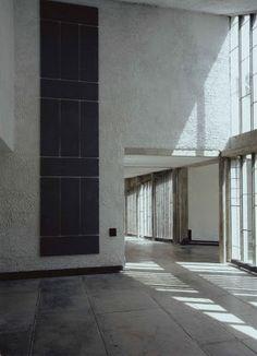 Alan Charlton chez Le Corbusier
