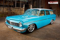 Vintage Trucks Muscle Paul Beauchamp's stroked and injected EH Holden wagon is as cool as they come Australian Muscle Cars, Aussie Muscle Cars, Classic Chevy Trucks, Classic Cars, Holden Wagon, Chevy Truck Models, Holden Muscle Cars, Holden Australia, Wagon Cars