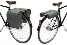 Nice bike bag from Linus, featured on Swiss Miss. #bicycle #bag #linus