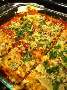 lasagna with herbed macadamia ricotta
