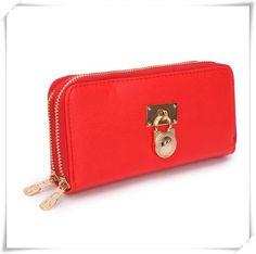 6dff486f98ec Michael Kors Hamilton Continental Lock Large Red Wallets Is The Most Famous  Product, Which Will Make You More Attractive. Take Michael Kors Hamilton ...