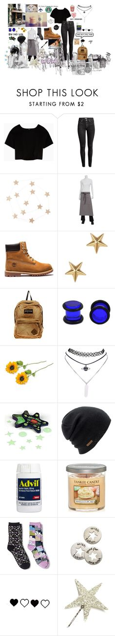 """""""Untitled #33"""" by mylittlewrittenworld ❤ liked on Polyvore featuring Max&Co., H&M, Marc Jacobs, JanSport, Wet Seal, Coal, Yankee Candle, Davco, Sharpie and KEEP ME"""