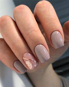 Latest and Hottest Matte Nail Art Designs Ideas - Rezepte - Naildesign - nagelpflege Short Nail Designs, Cute Nail Designs, Acrylic Nail Designs, Neutral Nail Designs, Latest Nail Designs, Awesome Designs, Matte Nail Art, Nail Nail, Long Nails