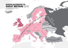 L'Europe selon les Britanniques