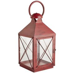 "The name Bennett comes from the Latin <i>Benedictus</i>, or ""blessed."" A fitting choice, we think, for our exclusive iron lantern. It's painted by hand and finished with a powder coating for rust-resistance, which makes it a timeless way to light up an evening. Just place your favorite 3x4 pillar inside, and you're good to go."