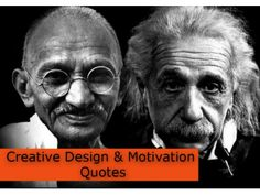 Creative design and motivation quotes by SeoCustomer.com via slideshare