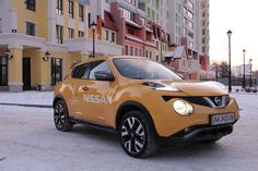 У нас на тесте: Nissan Juke
