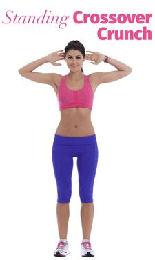 Banish belly fat with this move. Ab workouts will get you muscle, but they won't burn the fat. This move gets yo both!!!
