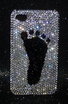 Bling Cell Phone Covers : Swarovski Crystal iphone Cell Phone Covers by The Dazzle Diva... omg too cute!