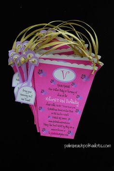 Handmade+beach+birthday+invitations | Sand Pail Beach Bucket Birthday Invitation by palmbeachpolkadots