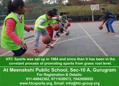 Learn good Cricket, Tennis and Football at HTC Sports under the guidance of certified coaches  Enjoy football, basketball and tennis @ www.htcsports.org