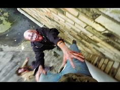 Watch A Crazy Parkour Runner Evade Zombies  - http://gizmodo.com/watch-a-crazy-parkour-runner-evade-zombies-1678685378