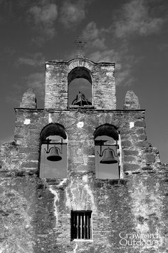 Mission Espada is one of the old Spanish missions on the San Antonio Missions Trail: http://crawfordoutdoors.com/p402444199
