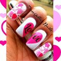 The Sparkle Queen: Heart Of Stones – Valentine's Day Nails
