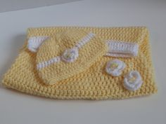 Yellow Baby Cocoon Crocheted by LooptCrochetNMore on Etsy