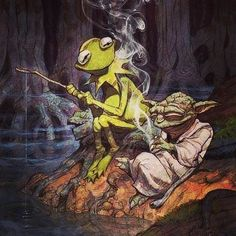 Enjoy the simple things  #marijuana#maryjane#weedporn#weed#cannabiscommunity#cannabis#420#kush#thc#joint#blunt#stoner#pot#staylitlife#cool#sativa#indica#weedstagram420#yoda#starwars#starwarsfan#kermit#art#artwork#painting#fishing#paint#drawing#draw#fish