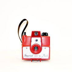 Red Imperial Vintage Camera Photograph by ShadetreePhotography, $25.00