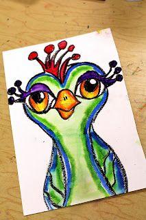 smART Class :http://elementaryartfun.blogspot.com/  A fun site with art for kids