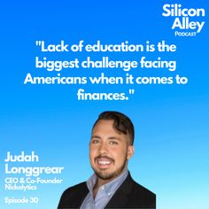 Do you feel like you are educated financially? This is one of the most common answers, Silicon Alley Podcast guests give to this question. Do you agree? #finlit #financialliteracy #getostrich #financialwellness #financialeducation #financialunderstanding #finances #financialfreedom #fire #fatfire #education #educationproblems #lackofeducation #literacy #nottaughtinschool Financial Literacy, Financial Goals, Who Is An Entrepreneur, Personal Finance App, Cross Functional Team, Management Development, Insightful Quotes, Big Challenge, Co Founder