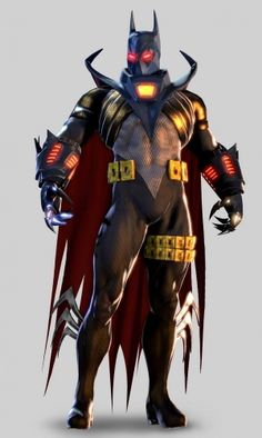 "Batman Arkham Origins the ""Knightfall"" Batsuit"