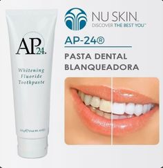 Brightens and whitens teeth while fighting plaque formation. Nu Skin, Whitening Fluoride Toothpaste, Activated Charcoal Teeth Whitening, Mouthwash, Like4like, Skin Care, Dental Care, Yuri, Beauty