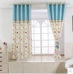 Short Curtains Bedroom, Modern Curtains, 2 Colours, Doodle Art, Fancy, Color, Design, Home Decor, Home
