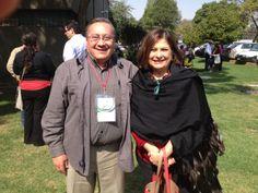 Con Don Jesús Cárdenas del Restaurante Las Mercedes de Guanajuato y delegado del Conservatorio de la Cocina Mexicana