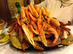 De Restaurantes...: Mariscadas en bandeja.